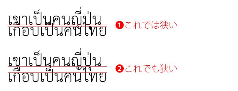 タイ語の行間を考える1