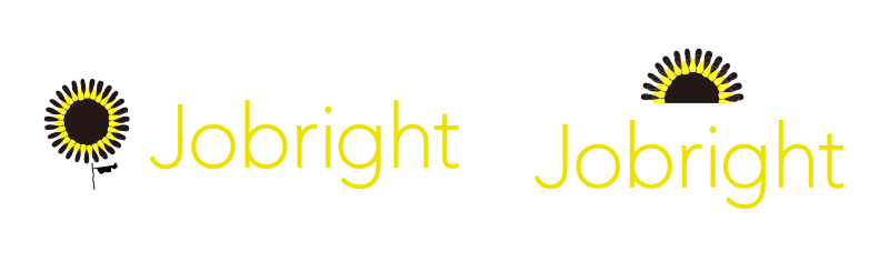 Jobrightロゴマーク納品案