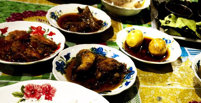 油の多いミャンマー料理